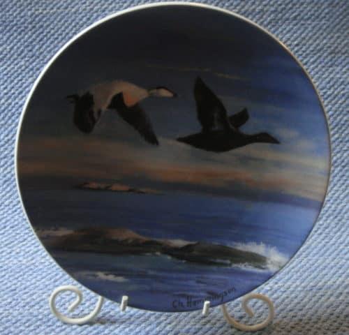Ahvenanmaa-taidelautanen 1990