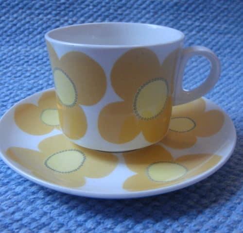Aurinko kahvikuppi