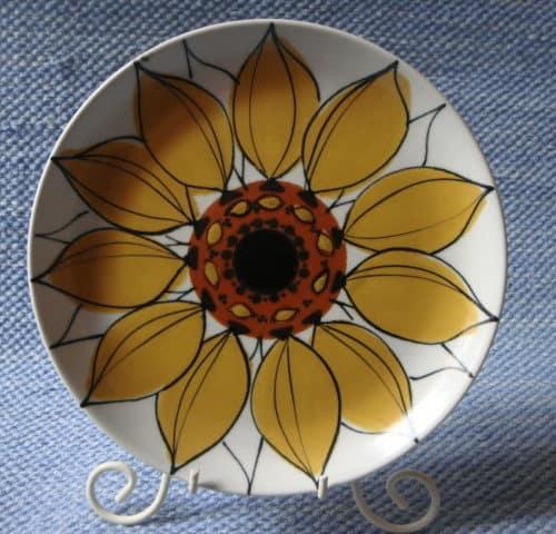Aurinkoruusu lautanen