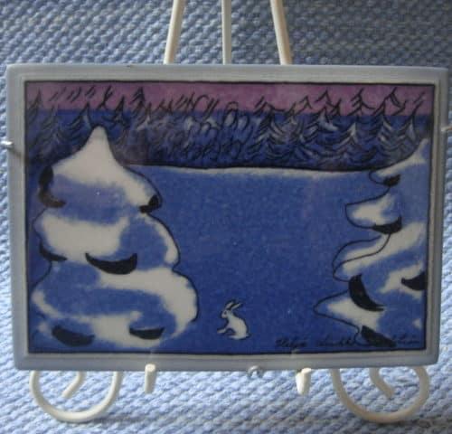 Heljän seinätaulu 16x11 cm