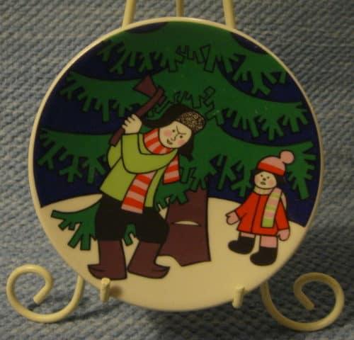 Joulukortti 1979