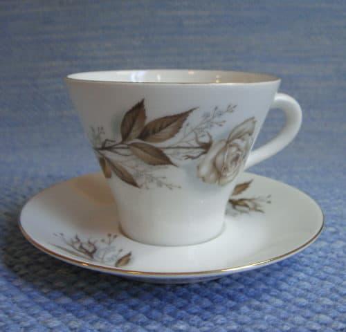 Juhlaruusu kahvikuppi