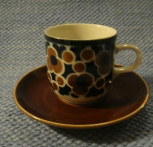 Kara kahvikuppi