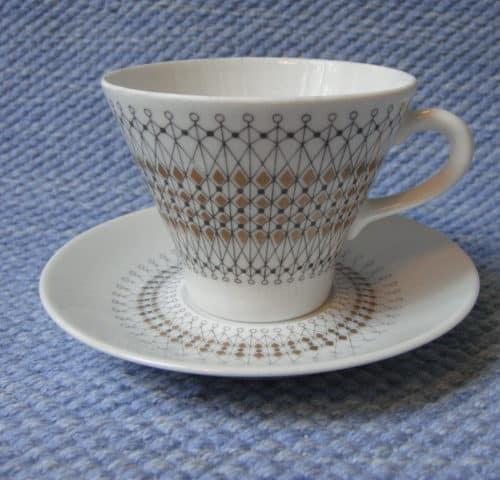 Kruunu kahvikuppi