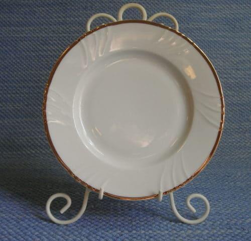 Kultakoriste lautanen 17 cm