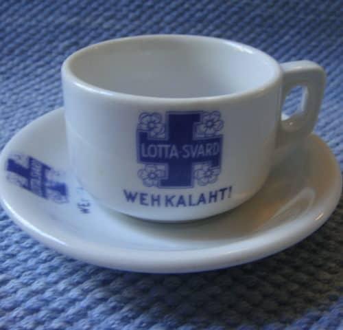 Lotta Svärd kahvikuppi