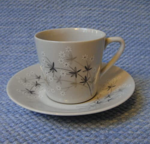 Lumikukka kahvikuppi