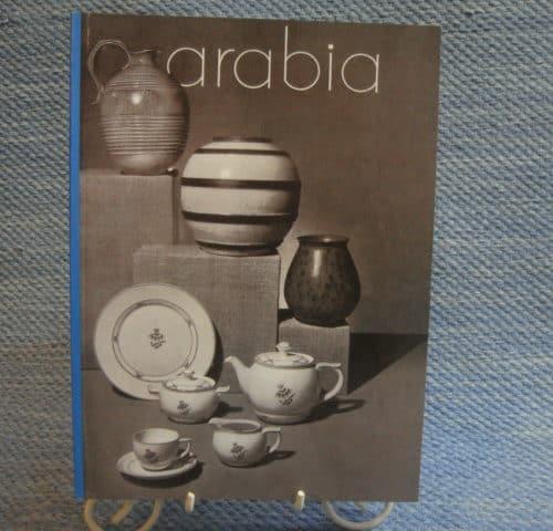 Näköispainos Arabian Kuvastosta/hinnastosta 1936
