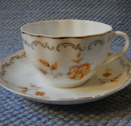 OB-mallin kahvikuppi 30-luvulta
