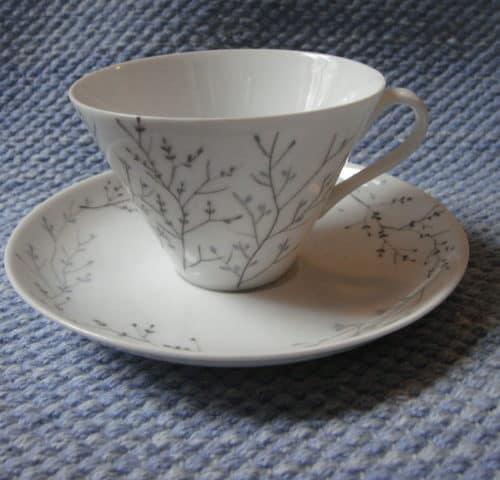 Oksa kahvikuppi
