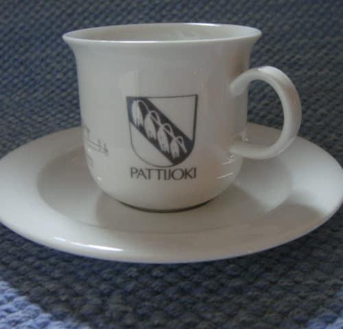 Pattijoki kahvikuppi