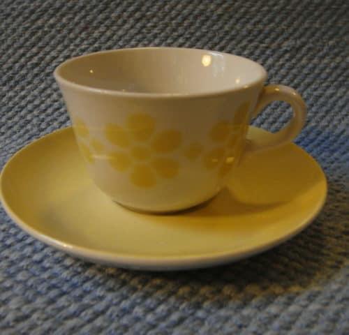 Pellava kahvikupppi