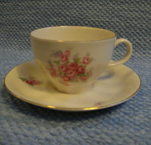 Pikkuruusu kahvikuppi