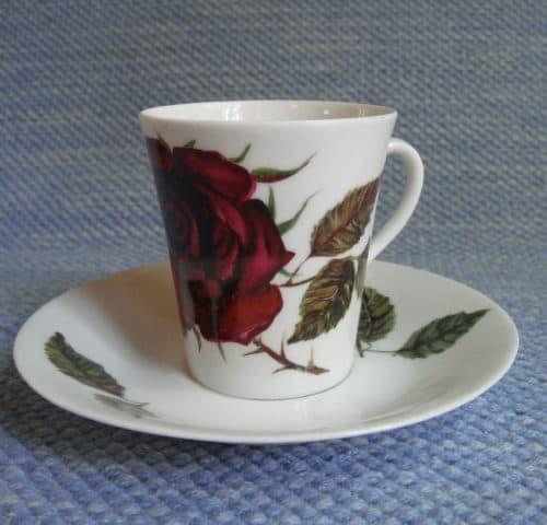 Ruusu kahvikuppi