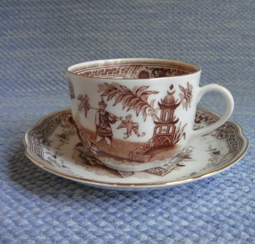 Singapore kahvi ja teekupit