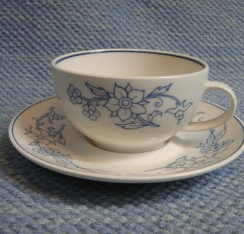 Sininen sarja/keittiö kahvikuppi