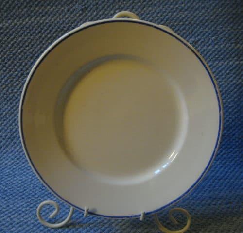 Siniraita lautanen