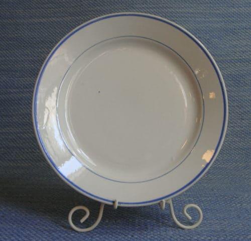 Siniraita lautanen 6 kpl