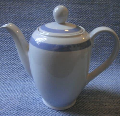 Sinivalko kahvikannu