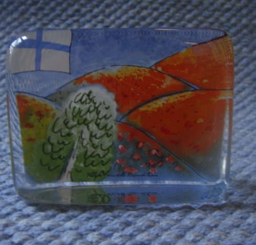 Suomen syksy lasikortti