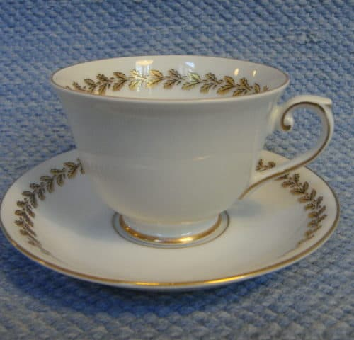 Tammenlehvä kahvikuppi