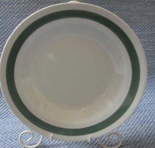 Vihreävalko lautanen