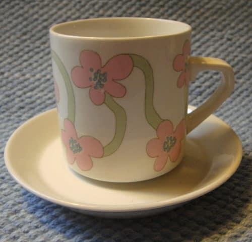 Villiruusu kahvikuppi