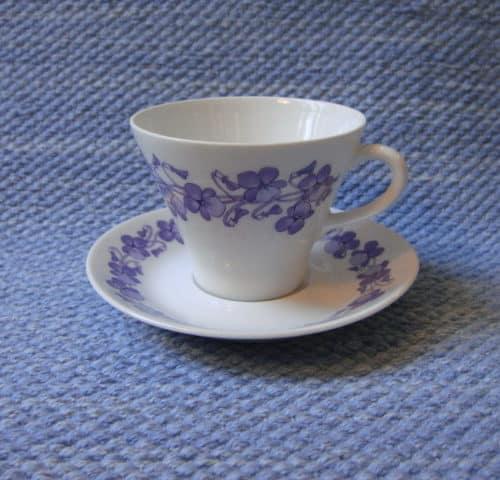 Viola kahvikuppi