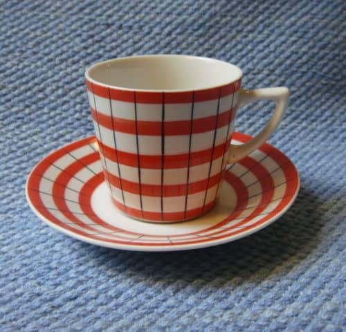 W-mallin kahvikuppi