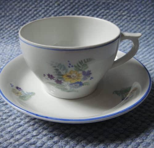 DK-mallin kahvikuppi 50-luvulta