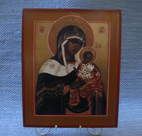 Ikoni Konevitsan Jumalan Äiti