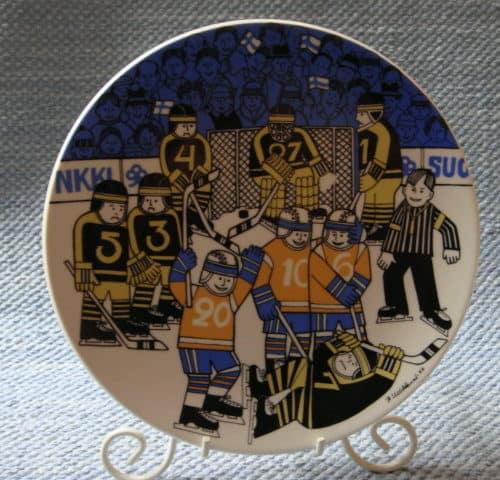 Jääkiekon MM-1982 lautanen