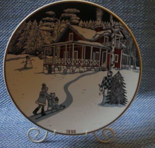 Joululautanen Joulutalo v. 1990