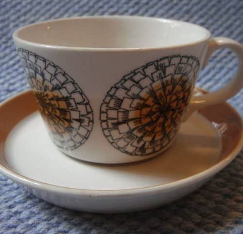 Kehäkukka kahvikuppi