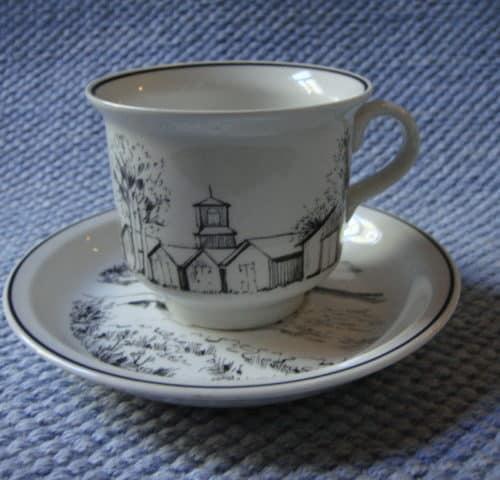 NE-mallin kahvikuppi