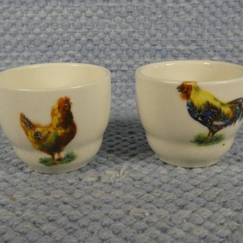 Kukko ja kana munakupit