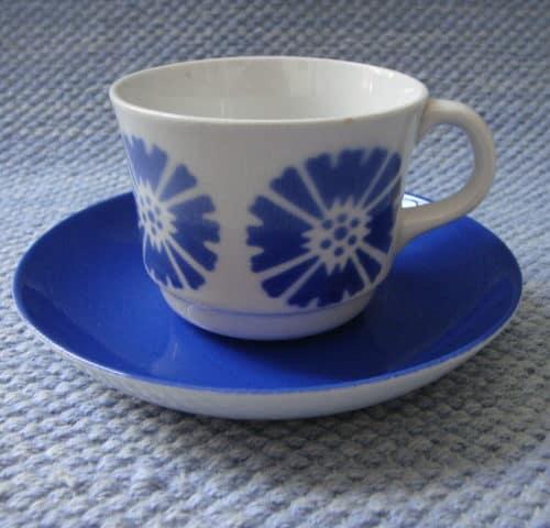 Puhalluskoriste kahvikuppi