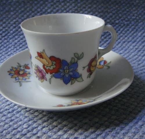 Q-mallin kahvikuppi