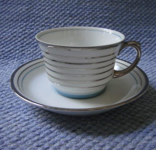 Raitahopea kahvikuppi