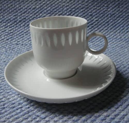 Riisiposliini kahvikuppi
