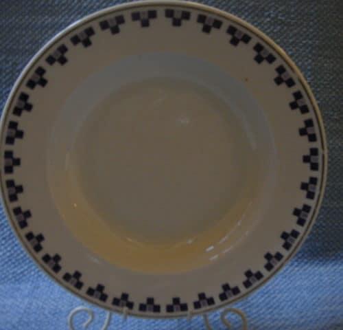Rotanhäntä leimainen lautanen