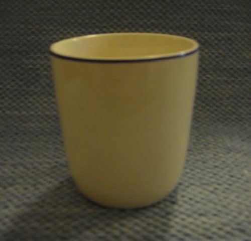 Siniraita korvaton muki