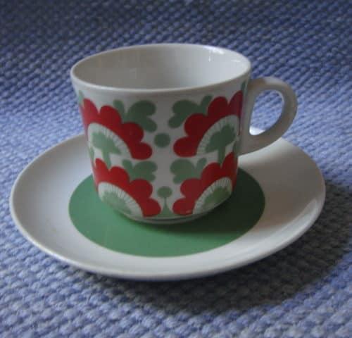 Unkari kahvikuppi