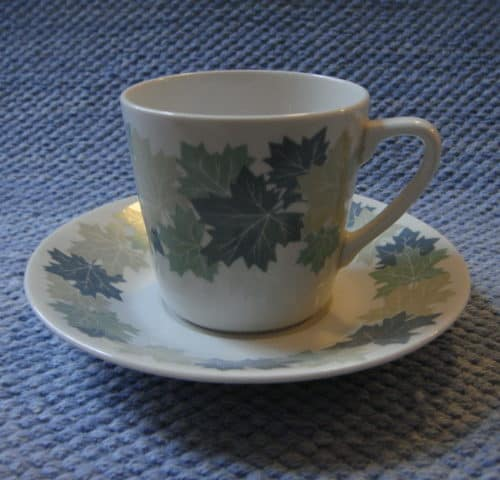 Vaahtera kahvikuppi