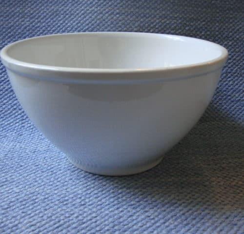 Valkoinen kulho