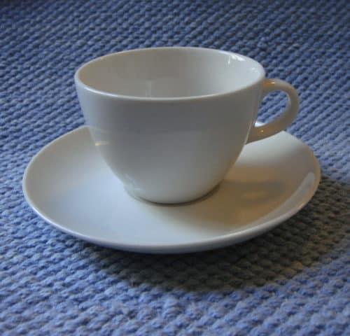 X-mallin kahvikuppi