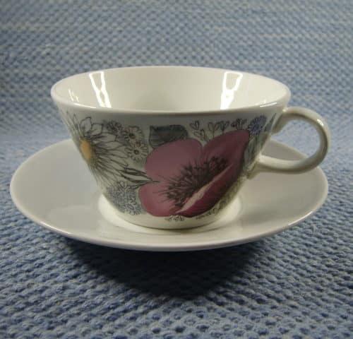 Valmu teekuppi