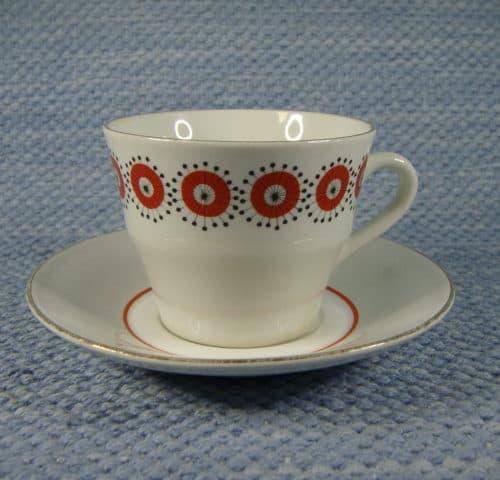 Retro kahvikuppi