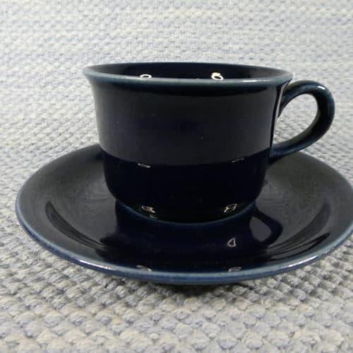 Kahvikuppi, sininen