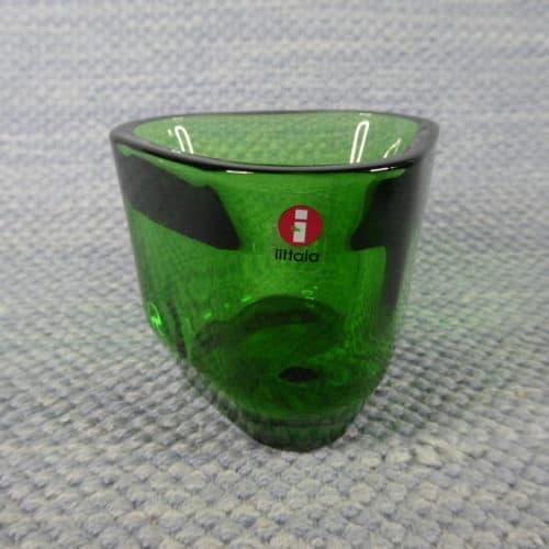 Tris kynttilälyhty, vihreä